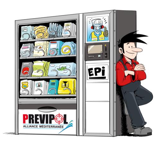 alfred distributeur EPI
